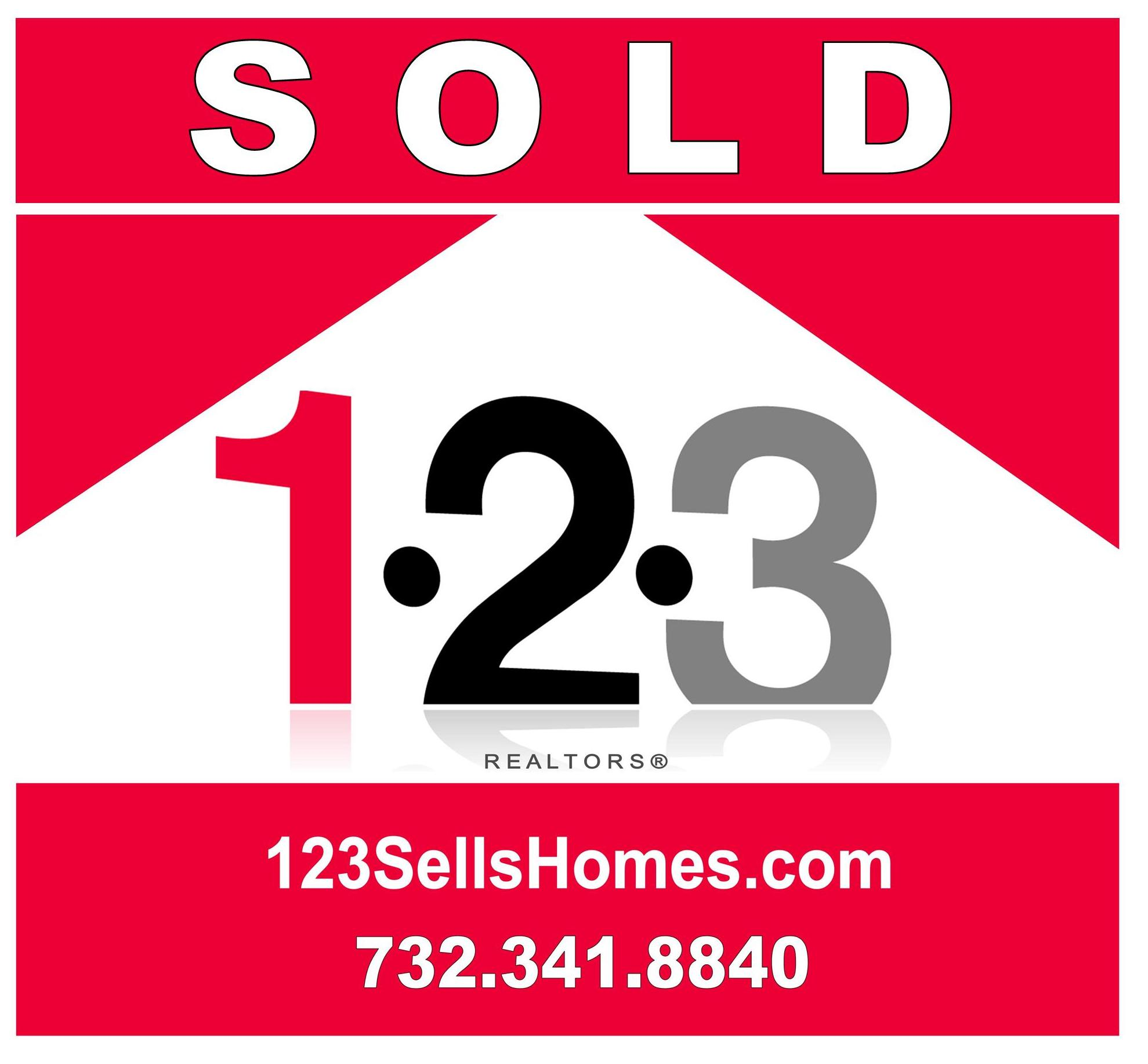 123 Realtors Sold Sign, Discount Realtors